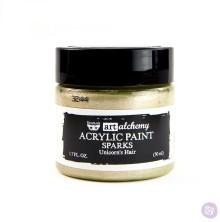Prima Finnabair Art Alchemy Acrylic Paint 50ml - Sparks Unicorns Hair