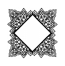 Wendy Vecchi Background Stamp - Square Doily