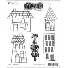 Dylusions Cling Stamp 8.5X7 - Home