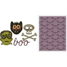 Tim Holtz Sizzix Sidekick Side-Order Set - Halloween