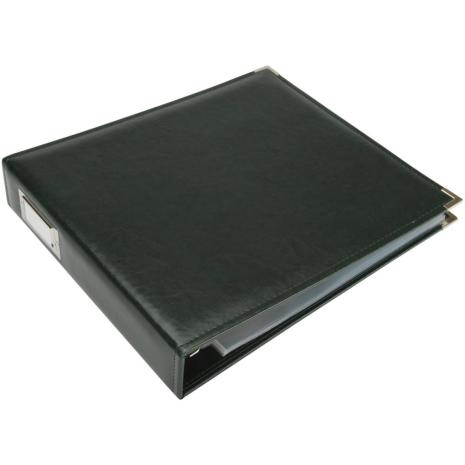 We R Memory Keepers Classic Leather D-Ring Album 12X12 - Forest Green