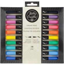 Kelly Creates Dream Pens 10/Pkg - Rainbow