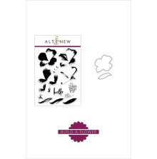 Altenew Clear Stamp And Die Build A flower - Peruvian Lily
