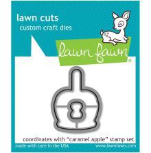 Lawn Fawn Custom Craft Die - Caramel Apple