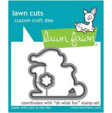 Lawn Fawn Custom Craft Die - Oh What Fun