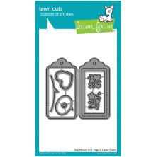 Lawn Fawn Custom Craft Die - Say What? Gift Tags
