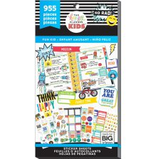 Me & My Big Ideas Happy Planner Sticker Value Pack Classic - Fun Kid