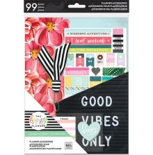 Me & My Big Ideas CLASSIC Good Vibes Only Accessory Pack - Student