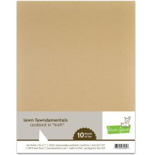 Lawn Fawn Cardstock - Kraft