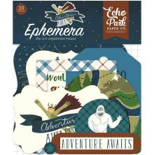 Echo Park Adventure Awaits Cardstock Die-Cuts 33/Pkg - Icons UTGÅENDE