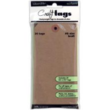Ranger Inkssentials Brown Kraft Surfaces 20/Pkg - No 8