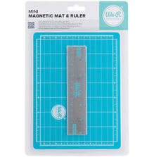 We R Memory Keepers Mini Magnetic Cutting Mat & Ruler Set