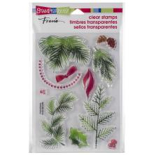 Stampendous Perfectly Clear Stamps 4x6 - Christmas Greenery