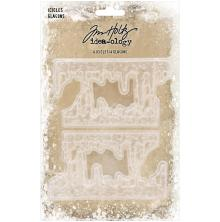 Tim Holtz Idea-Ology 4/Pkg - Icicles