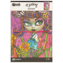 Dyan Reaveleys Dylusions Dyalog Canvas Printed Cover 5X8 - Believe