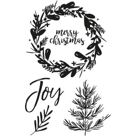Kaisercraft Clear Stamps 6X4 - Peace & Joy