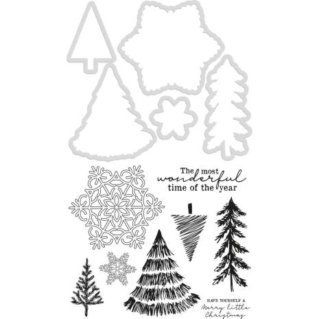 Kaisercraft Dies & Stamps - Nordic Christmas