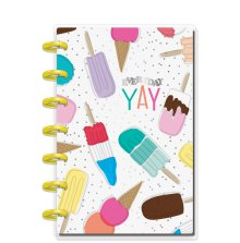 Me & My Big Ideas MINI Notebook - Ice Cream & Popsicles