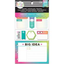 Me & My Big Ideas Happy Planner Note Cards/Sticky Note Multi Pack - Productivity