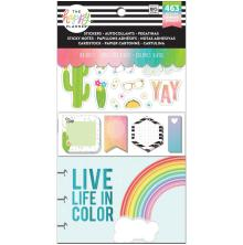 Me & My Big Ideas Happy Planner Note Cards/Sticky Note Multi Pack - Brights