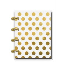 Me & My Big Ideas Tiny Journal Notebook - Keepsake Gold Dots