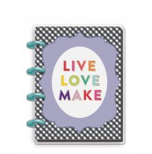 Me & My Big Ideas Tiny Journal Notebook - Keepsake Live Love