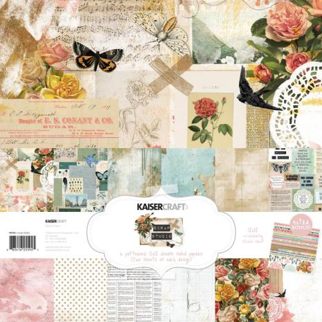 Kaisercraft Paper Pack 12X12 12/Pkg - Scrap Studio