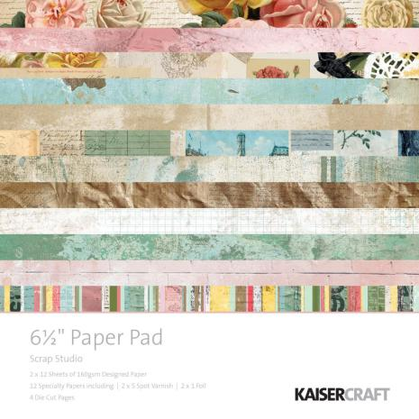 Kaisercraft Paper Pad 6.5X6.5 40/Pkg - Scrap Studio