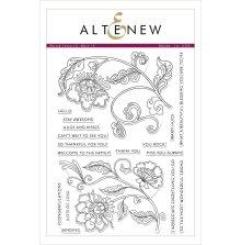 Altenew Clear Stamps 6X8 - Needlework Motif
