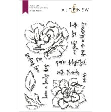 Altenew Clear Stamps 6X8 - Inked Flora