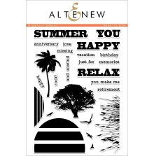 Altenew Clear Stamps 6X8 - Gradient Sunset