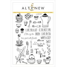 Altenew Clear Stamps 6X8 - Tea Time