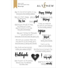 Altenew Clear Stamps 6X8 - Blessings