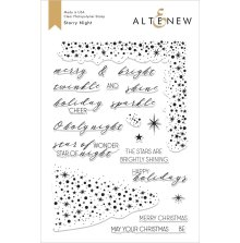 Altenew Clear Stamps 6X8 - Starry Night