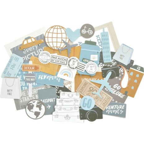 Kaisercraft Collectables Cardstock Die-Cuts - Lets Go