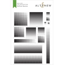 Altenew Clear Stamps 6X8 - Halftone Squares