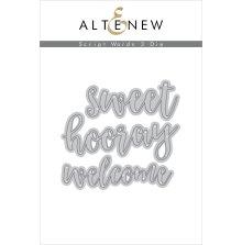 Altenew Die Set - Script Words 3
