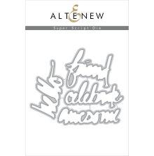 Altenew Die Set - Super Script