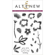 Altenew Clear Stamps 4X6 - Embroidered Blooms