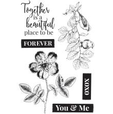 Kaisercraft Clear Stamps 6X4 - Everlasting