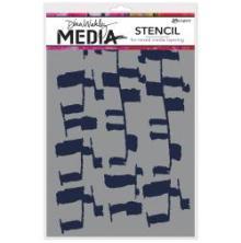Dina Wakley Media Stencils 9X6 - Ladders