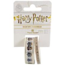 Paper House Washi Tape 2/Pkg Harry Potter - House Crests