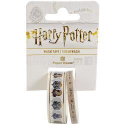 Paper House Washi Tape 2/Pkg Harry Potter - House Crests