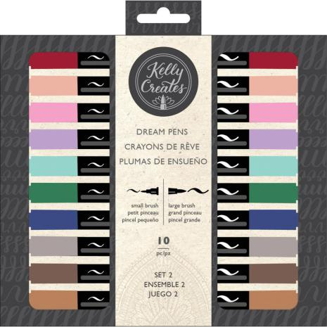 Kelly Creates Dream Pens 10/Pkg - Meadow