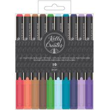 Kelly Creates Bullet Tip Pens 10/Pkg - Multicolor