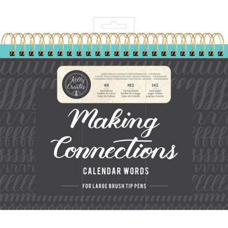Kelly Creates Large Brush Workbook 11.6X10 142/Pkg - Calendar