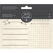 Kelly Creates Acrylic Traceable Stamps - Journaling