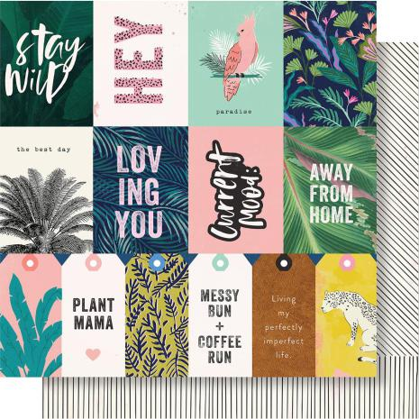 Crate Paper Wild Heart Double-Sided Cardstock 12X12 - Wildly