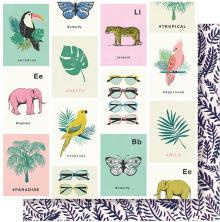 Crate Paper Wild Heart Double-Sided Cardstock 12X12 - Animal