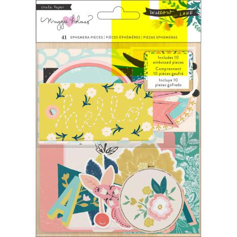 Maggie Holmes Ephemera Cardstock Die-Cuts 41/Pkg - Willow Lane